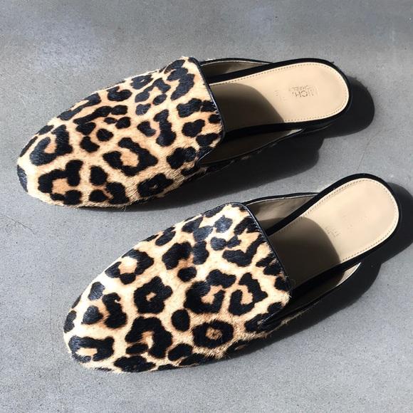 84eda4e1723b MICHAEL Michael Kors Shoes | Michael Kors Leopard Print Slides ...